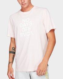 0 No Days Off Short Sleeve T-Shirt  R192058 RVCA