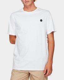 0 Motors Badge Short Sleeve T-Shirt  R192059 RVCA