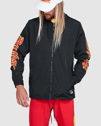 0 Tower 12 Windbreaker Black R192431 RVCA