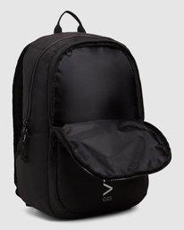 4 Rvca Down The Line Backpack Black R192451 RVCA