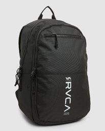3 Rvca Down The Line Backpack Black R192451 RVCA
