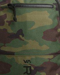 4 Rvca Down The Line Backpack Camo R192451 RVCA