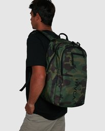 5 Rvca Down The Line Backpack Camo R192451 RVCA