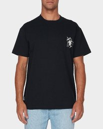 0 Mono Flower Short Sleeve T-Shirt  R193044 RVCA