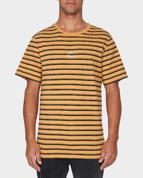 0 Slasher T-Shirt Yellow R193048 RVCA