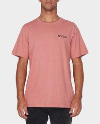 0 RVCA Keyliner Short Sleeve T-Shirt  R193050 RVCA