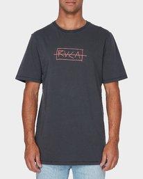 0 RVCA Samurai Short Sleeve T-Shirt  R193054 RVCA