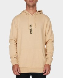 0 Chaos Pullover Hood Yellow R193165 RVCA