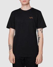 0 Club T-Shirt Black R194041 RVCA