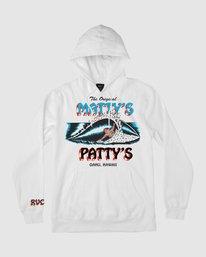 0 Matty's Patty's Hoodie White R194158 RVCA