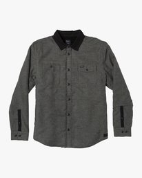 Victory II - Long Sleeve Flannel Shirt for Men  R1SHRDRVW9