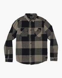 Haywire Plaid - Button-Up Flannel Shirt for Men  R1SHRERVW9