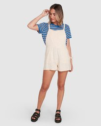 6 The Dot Shorty Beige R206761 RVCA