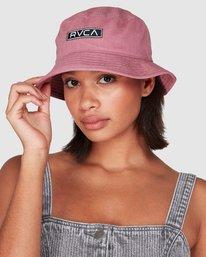 0 Badger Bucket Hat Purple R207561 RVCA