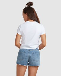 3 PACKETS BABY TEE White R217685 RVCA