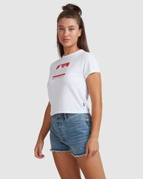 2 PACKETS BABY TEE White R217685 RVCA