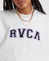 4 RVCA ARCH CREW White R218152 RVCA