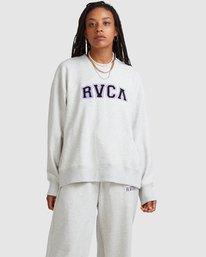 0 RVCA ARCH CREW White R218152 RVCA