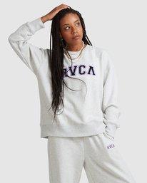1 RVCA ARCH CREW White R218152 RVCA