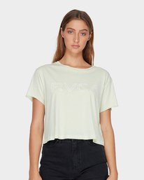 0 Keyline RVCA T-Shirt Green R271685 RVCA