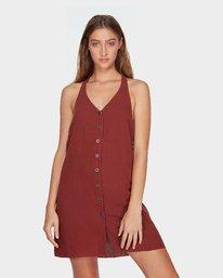 0 Holt Dress Brown R282758 RVCA
