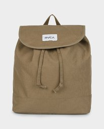 0 Focus Patch Backpack Green R291453 RVCA