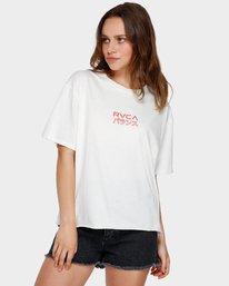 0 Shibusa T-Shirt White R291686 RVCA