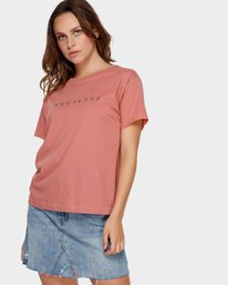 0 Switch T-Shirt Brown R293695 RVCA