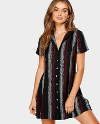 0 Ray Dress Black R293763 RVCA