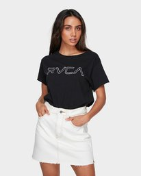 0 Rowdy Rewerked Skirt White R293831 RVCA