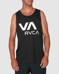 0 Va Rvca Tank Top Black R305007 RVCA
