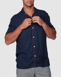 0 Hi-Grade Camp Shirt Blue R307195 RVCA