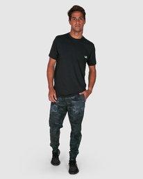 8 YOGGER PANTS Camo R307275 RVCA