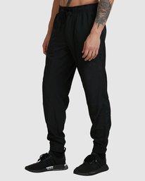 0 YOGGER PANTS Black R307275 RVCA