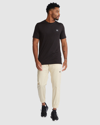 5 SPECTRUM CUFFED WORKOUT PANTS Brown R307276 RVCA