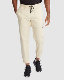 1 SPECTRUM CUFFED WORKOUT PANTS Brown R307276 RVCA