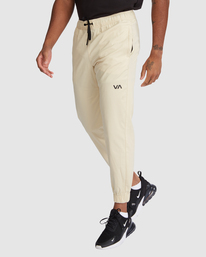 0 SPECTRUM CUFFED WORKOUT PANTS Brown R307276 RVCA