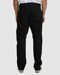 2 DAGGERS TWILL PANTS Black R307280 RVCA