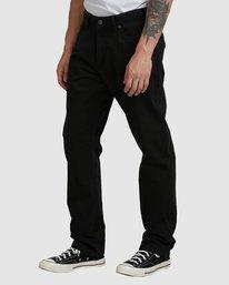 0 DAGGERS TWILL PANTS Black R307280 RVCA