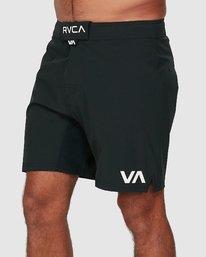 0 FIGHT SCRAPPER SHORTS Black R307311 RVCA