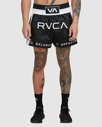 0 Rvca Muay Thai Short Black R307312 RVCA