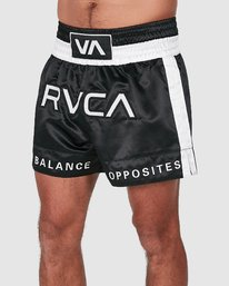 0 RVCA MUAY THAI SHORTS Black R307312 RVCA