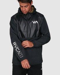 0 Utility Anorak Jacket Black R307435 RVCA