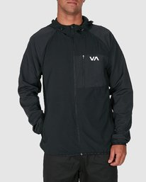 0 YOGGER JACKET Black R307437 RVCA