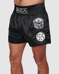 0 Ortiz Muay Thai Shorts Black R308311 RVCA