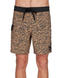 0 Restless Boardshorts Yellow R308401 RVCA