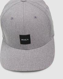 4 Shift Flexfit Cap Grey R308561 RVCA