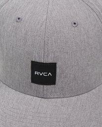 7 Shift Flexfit Cap Grey R308561 RVCA