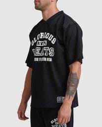 1 Matty Practice Jersey Short Sleeve Tee Black R315043 RVCA