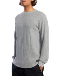1 DAY SHIFT THERMAL LONG SLEEVE SHIRT Grey R315091 RVCA